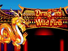 Игровой аппарат Бушующее Пламя Дракона на сайте казино Вулкан