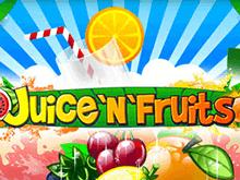 В клубе Вулкан игровой аппарат Juice'N'Fruits с выводом денег