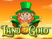 Игровой аппарат Land Of Gold в клубе Вулкан – способы игры онлайн